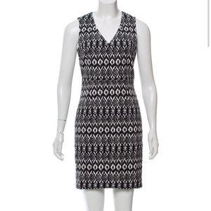 DVF Printed Sheath Dress - EUC